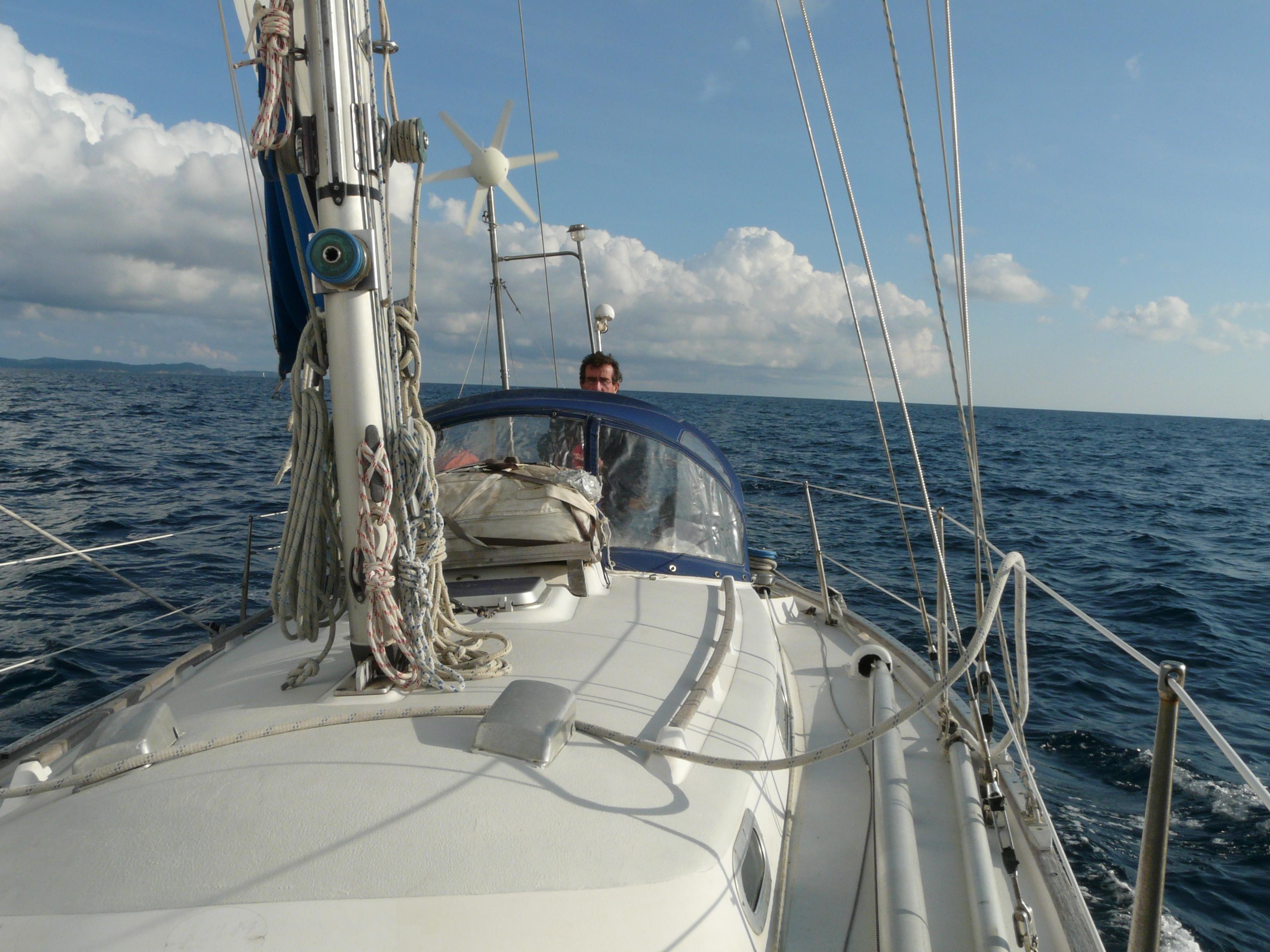 Naviguant entre Porqueroles et Saint Mandrier